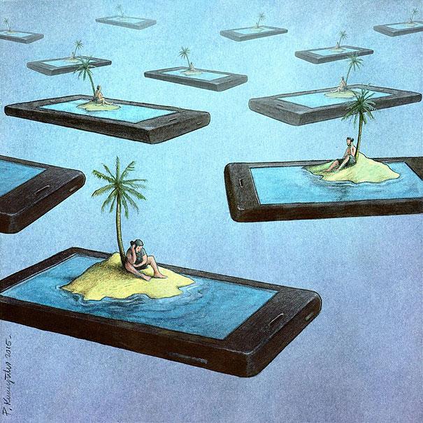 07-satirical-illustrations-addiction-technology