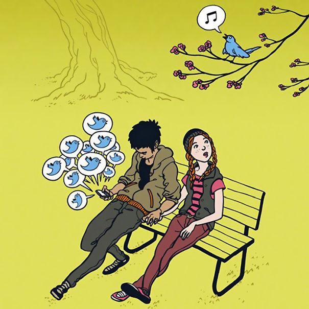 12-satirical-illustrations-addiction-technology