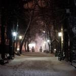 Снежный Кишинёв в фотографиях Юрия Андра