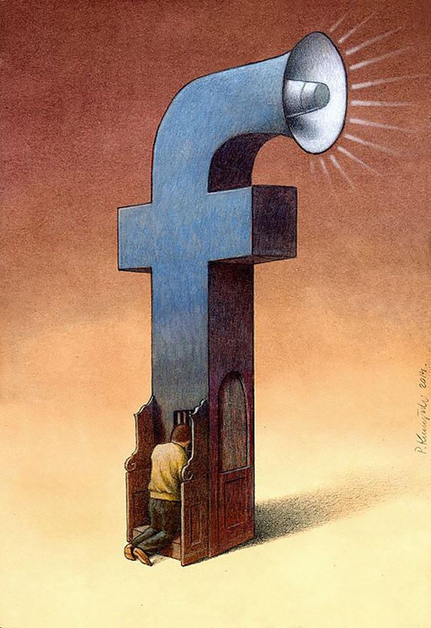 13-satirical-illustrations-addiction-technology
