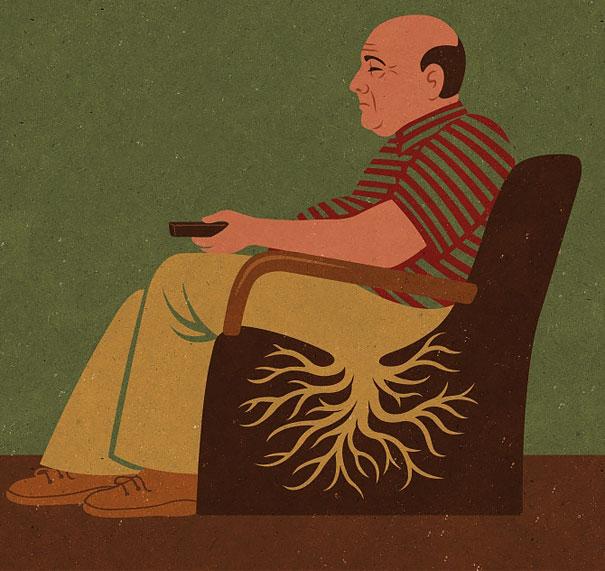 16-satirical-illustrations-addiction-technology