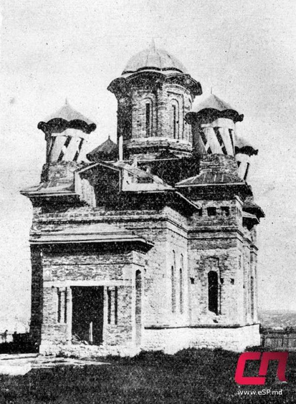 Строительство церкви Святой Параскевы, 20-е гг.