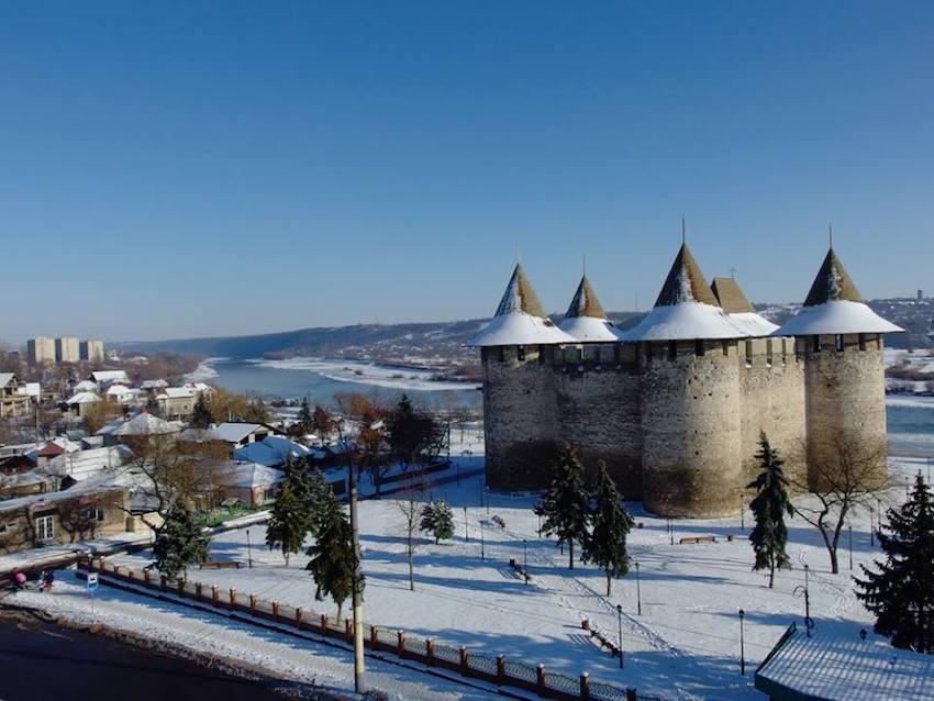 Cetatea Soroca în sărbătorile Crăciunului. Ianuarie 2016 Foto- Nicolae Bulat