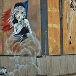 Новое граффити Бэнкси посвящено жестокому отношению полиции к мигрантам