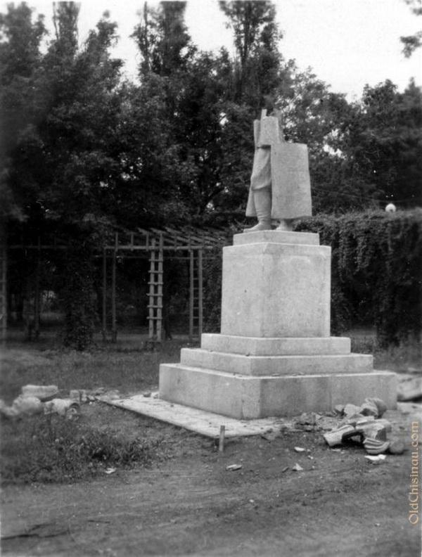 Памятник Сталину.