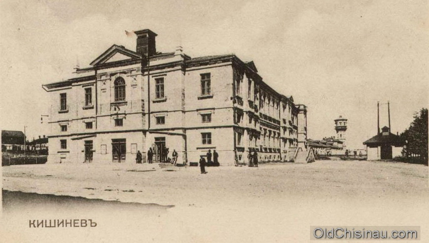 Пушкинская Аудитория (Театр). Здание театра сгорело в 1920-х гг, в 1930-х годах оно было перестроено в радиостанцию. В первый же год войны здание было полностью уничтожено.