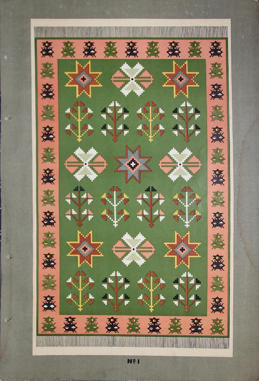 Albumul ornamentelor de covoare MD-page-004