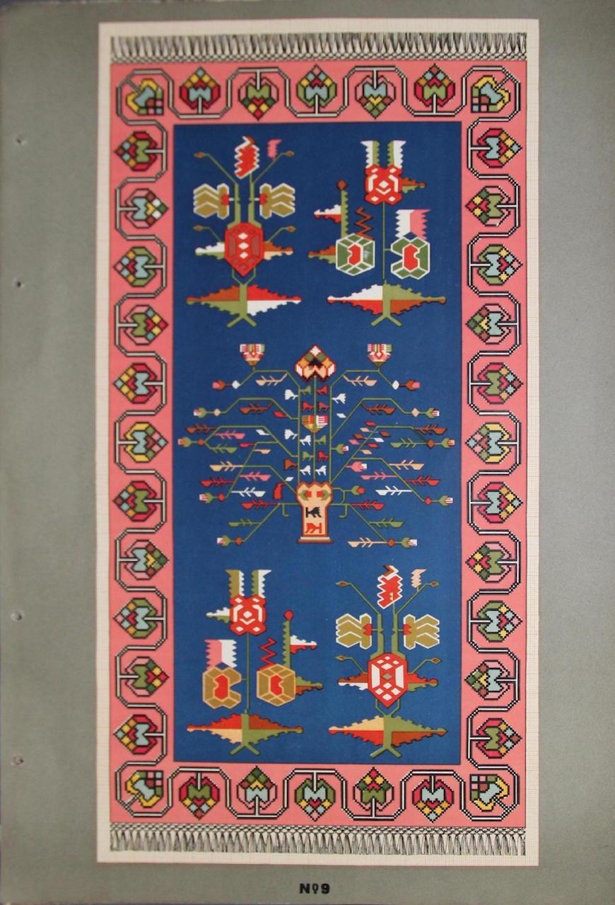 Albumul ornamentelor de covoare MD-page-012