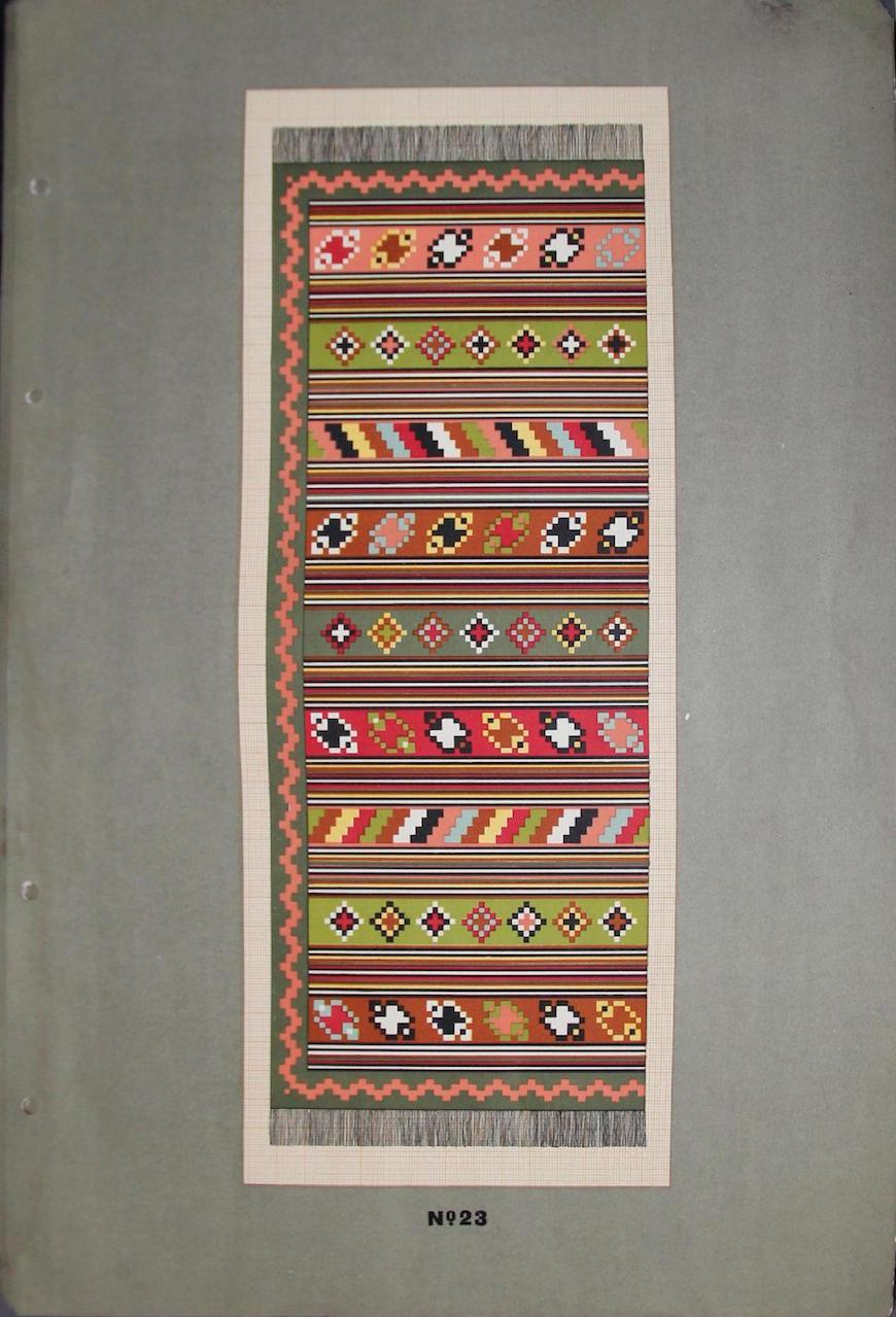 Albumul ornamentelor de covoare MD-page-022