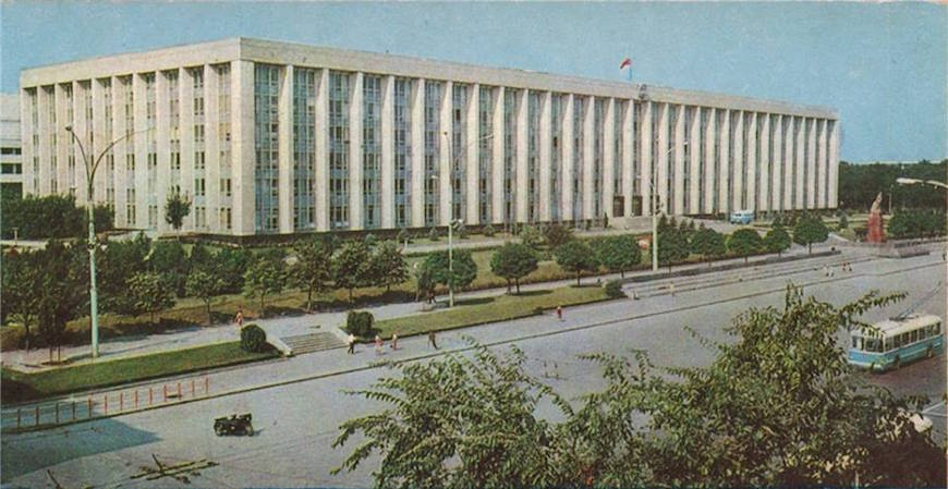 Old Chișinău (1970).