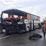 На трассе Киев-Одесса перевернулся рейсовый автобус Москва — Кагул