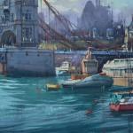 Tânărul pictor Eugeniu Gorean își va expune lucrările la Londra