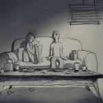365 рисунков о каждом дне жизни, проведённом с любимой женой