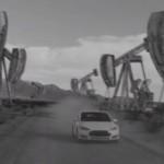 Видео: В интернете появилась реклама электромобиля Tesla в мире будущего без нефти