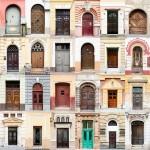 Фотографии дверей домов Румынии, Испании, Италии, Англии и Португалии