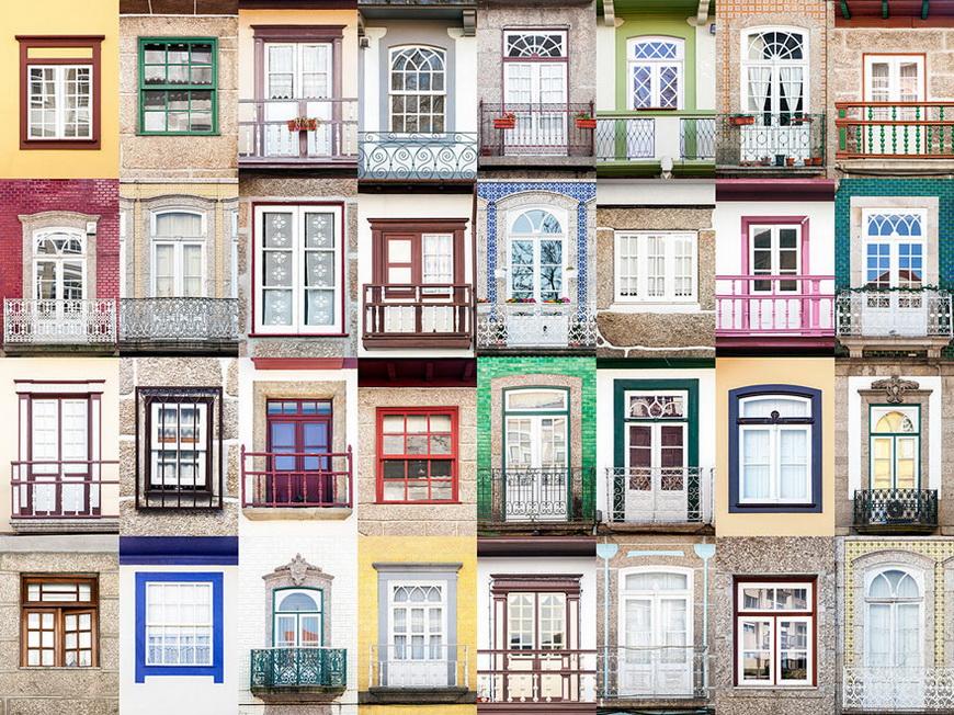Город в Португалии Гимарайнш.