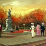 Кишинёв в картинах художника Петра Рыльского