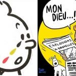 #PrayForBelgium: Тинтин плачет и другие иллюстрации в поддержку Бельгии
