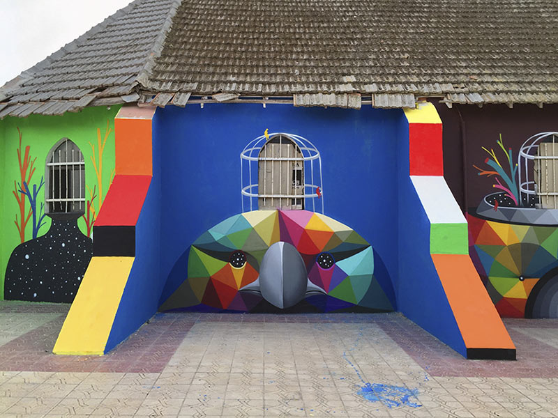 abandoned-church-painted-urban-street-art-okuda-san-miguel-morocco-13