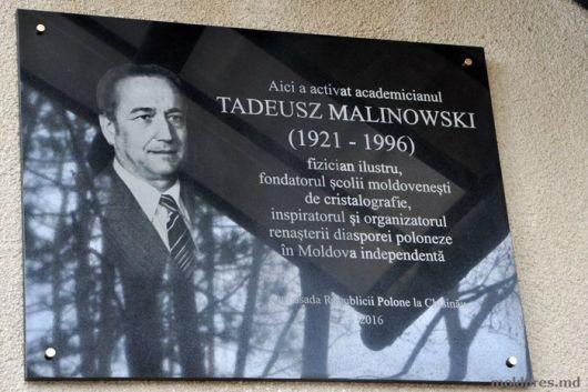 big-o-placa-comemorativa-dedicata-savantului-tadeusz-malinowski-a-fost-dezvelita-la-chi-sinau