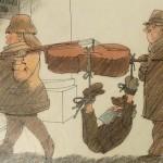 20 иллюстраций Евгения Щеглова о больших и маленьких