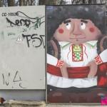 В парке Valea Morilor появился новый стрит-арт