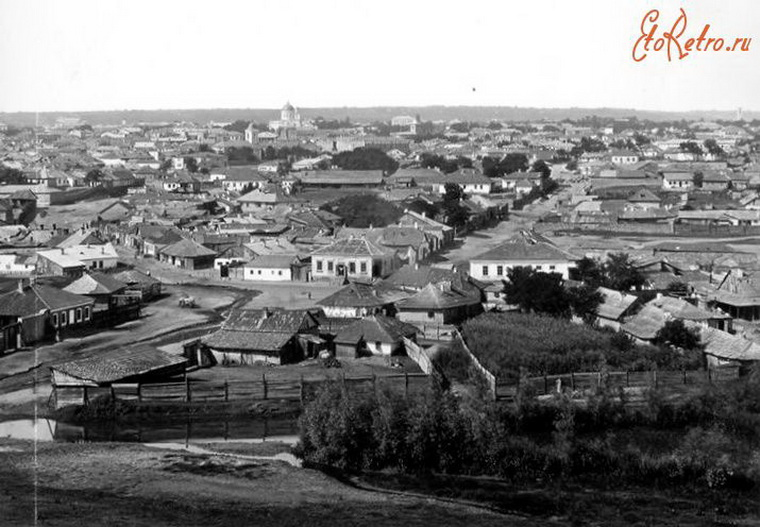 Вид на Кишинёв конца XIX века.