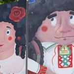 Chișinău is Me i-a pictat lui Guguță din parcul Valea Morilor o moldoveancă