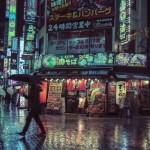 Ночной Токио в фотографиях Лайэма Вонга