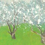 Весна в работах румынских художников