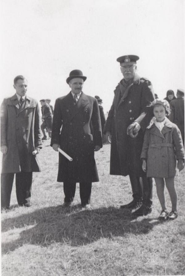 Генерал Пион Джеорджеску в Кишинёве. 1930-е гг.