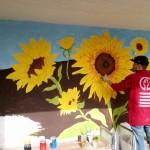 Șase stații de așteptare din satul Costești, Ialoveni, vor fi pictate