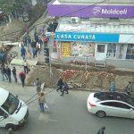 Фото дня: Траншеи на улице Армянской