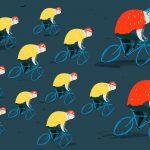 Velohora 2016: 8 reguli de circulație în coloană pentru bicicliști
