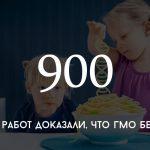 Цифра дня: о безвредности ГМО