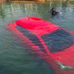 Девушка из Канады въехала в озеро, следуя указаниям навигатора