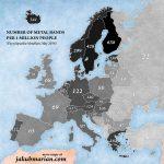 По количеству метал-групп Молдова — одна из отстающих стран Европы