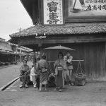 Фотографии Японии в 1908 году до войны и разрухи
