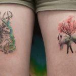 Природа и геометрия в татуировках Джаспера Андреса
