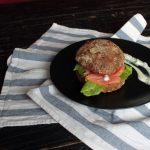 Готовим вместе: сочный бургер с сёмгой