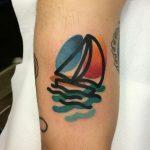 Контур и цвет в татуировках Маттиа Мамбо