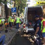 В Кишиневе демонтируют нелегальные знаки «зарезервированная парковка»