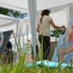 """Artista Nicoleta Vacaru a câștigat concursul de pictură """"Cai verzi pe pereți"""" de la festivalul IA Mania"""