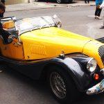 10 retro automobile Morgan din Belgia pot fi admirate pe Strada Pietonală din Chișinău