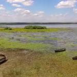 Видео: пролетая над озером Белеу