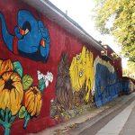 Eroi din desene animate pe o nouă pictură murală în Chișinău de la #UnArtOraș