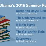 Обама порекомендовал книги на лето