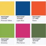 Компания Pantone назвала главные цвета весны 2017 года