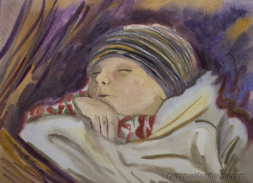 bogdanel-doarme-acuarela