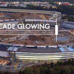Футуристический кампус Apple показали с высоты птичьего полета